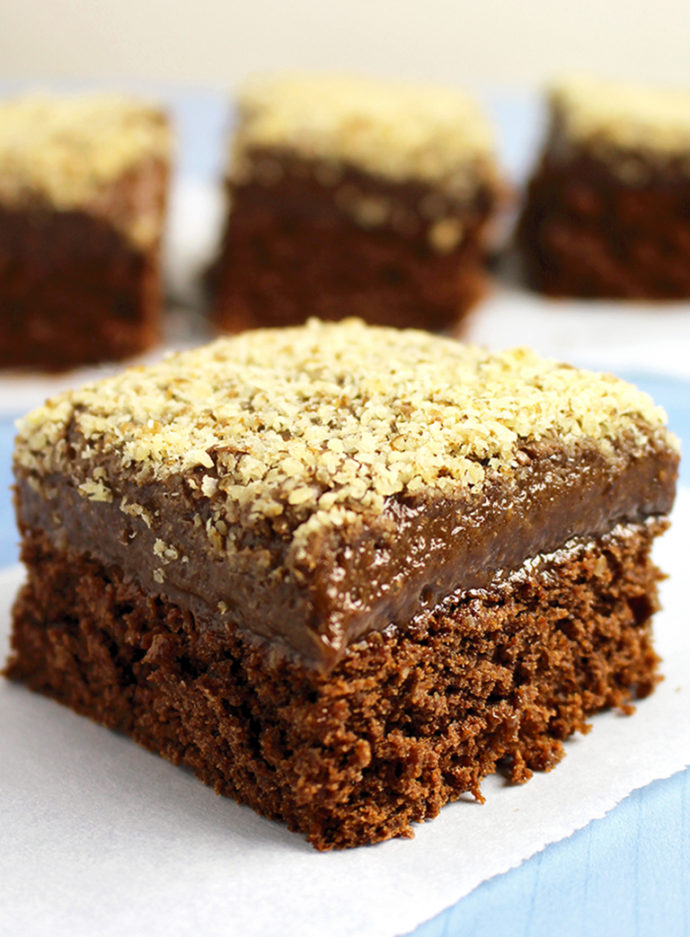 Chocolate Rum Cake old fashioned dessert recipe perfect for all chocoholics. Great combo of chocolate, rum and walnuts.. so tasty and delicious.