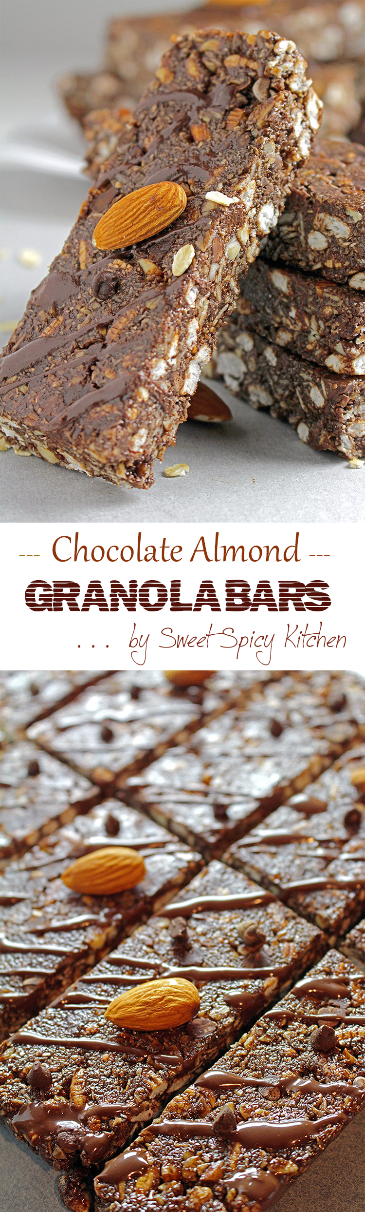 Untitled-157 Chocolate Almond Granola Bars