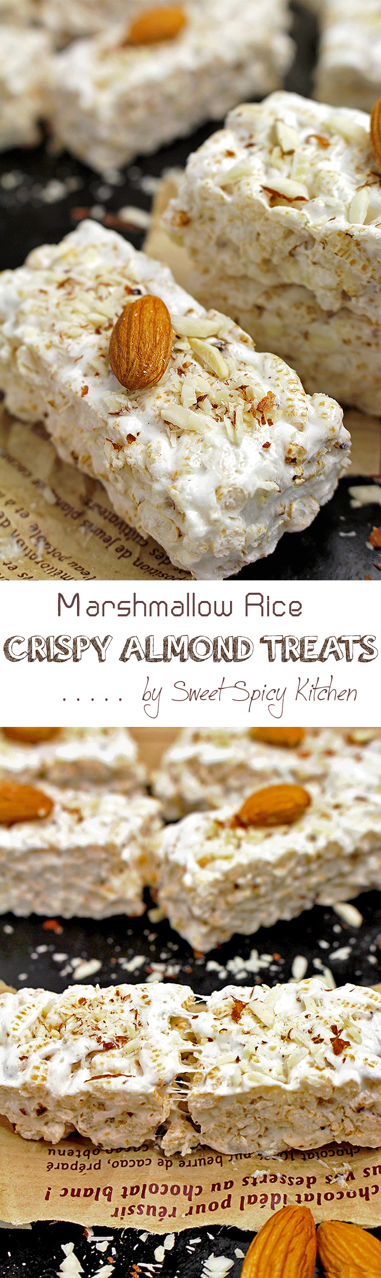 Untitled-3 Marshmallow Rice Crispy Almond Treats