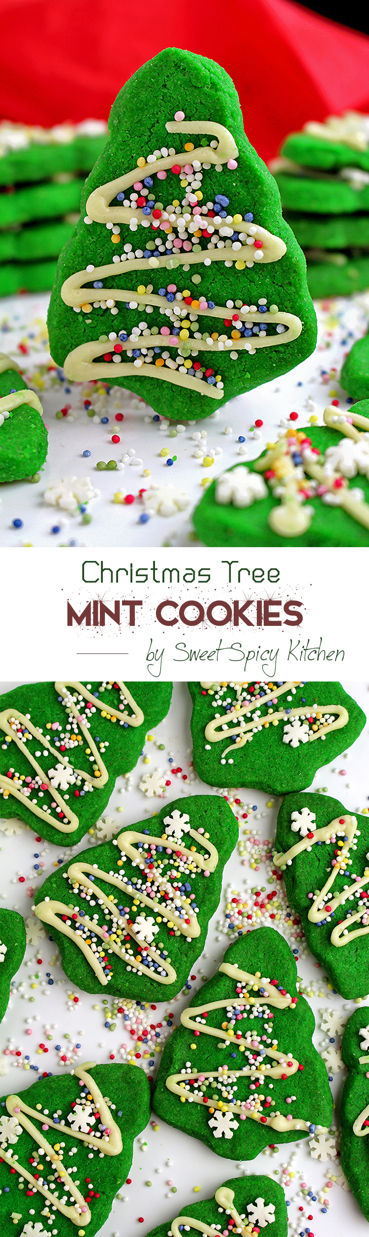 Untitled-22 Christmas Tree Mint Cookies