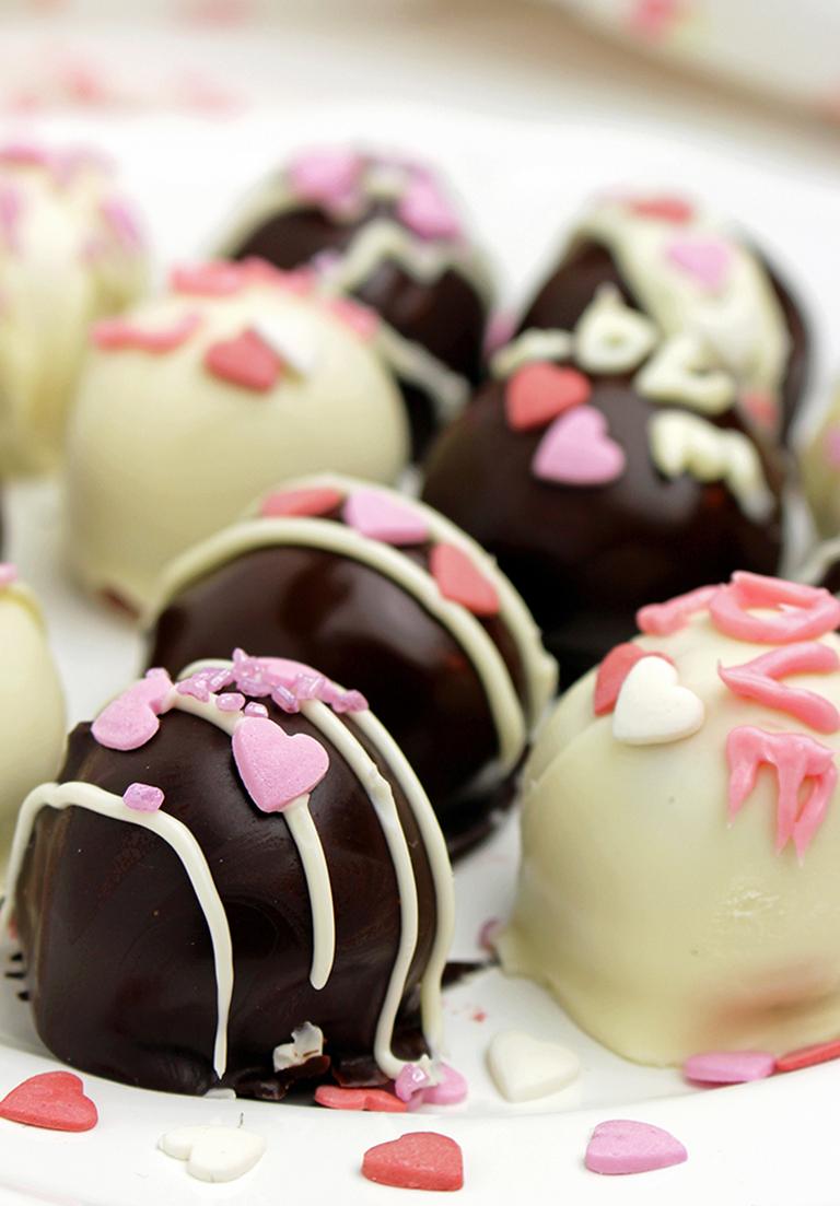 IMG_2565 Valentine's Raspberry Chocolate Truffles