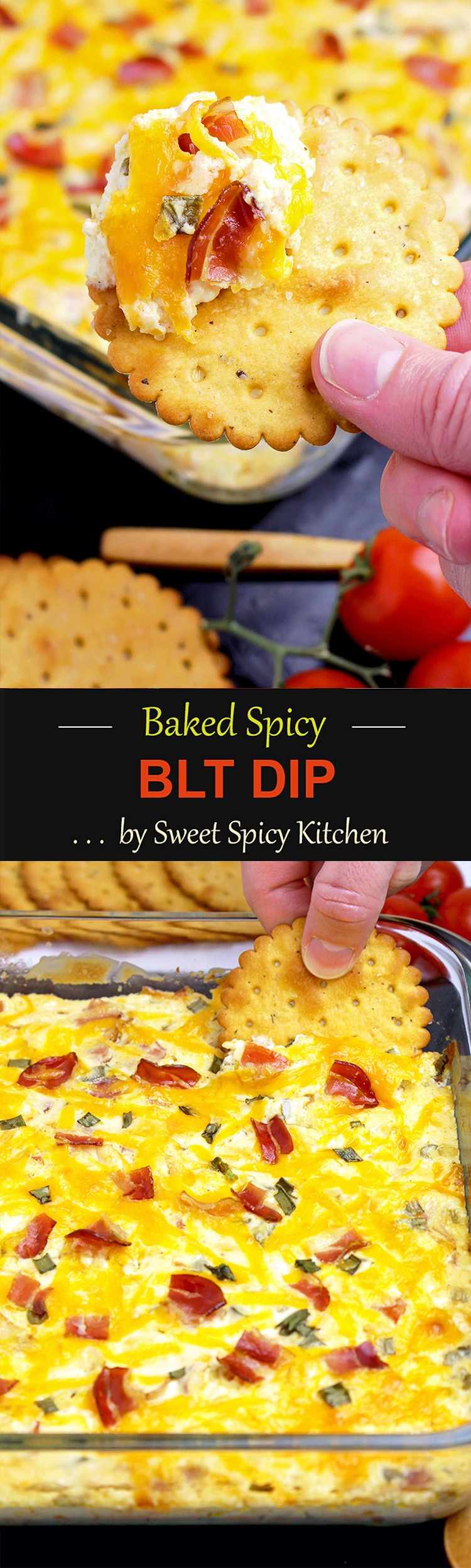 Untitled-1155 Baked Spicy BLT Dip Recipe