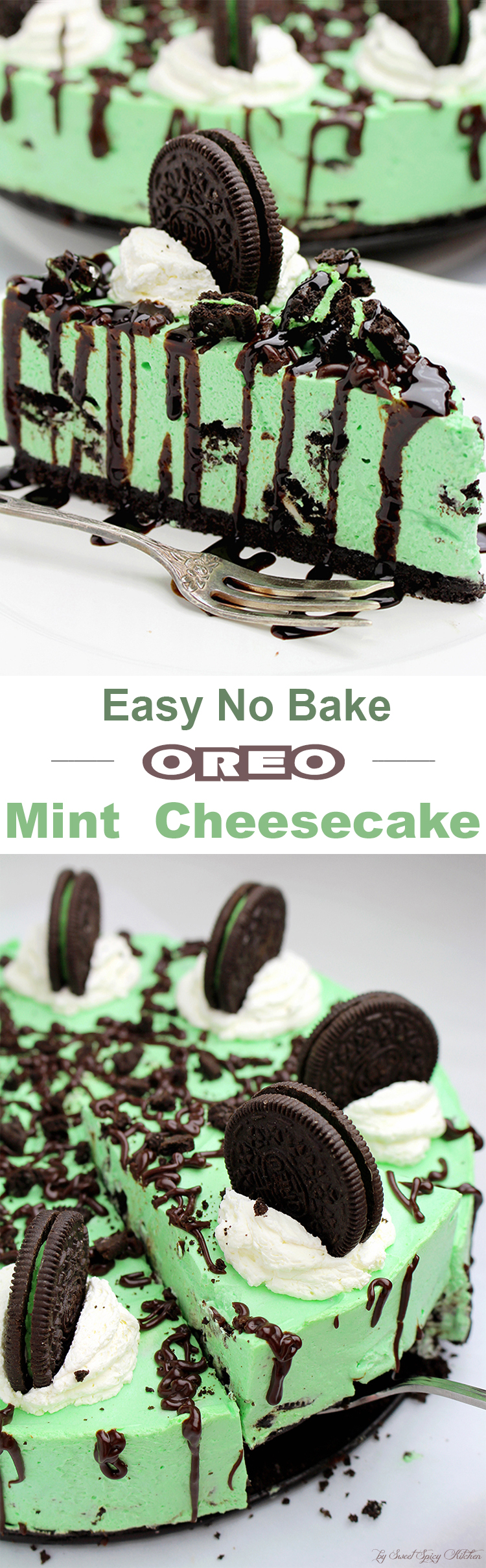 Untitled-155 Easy No Bake Oreo Mint Cheesecake
