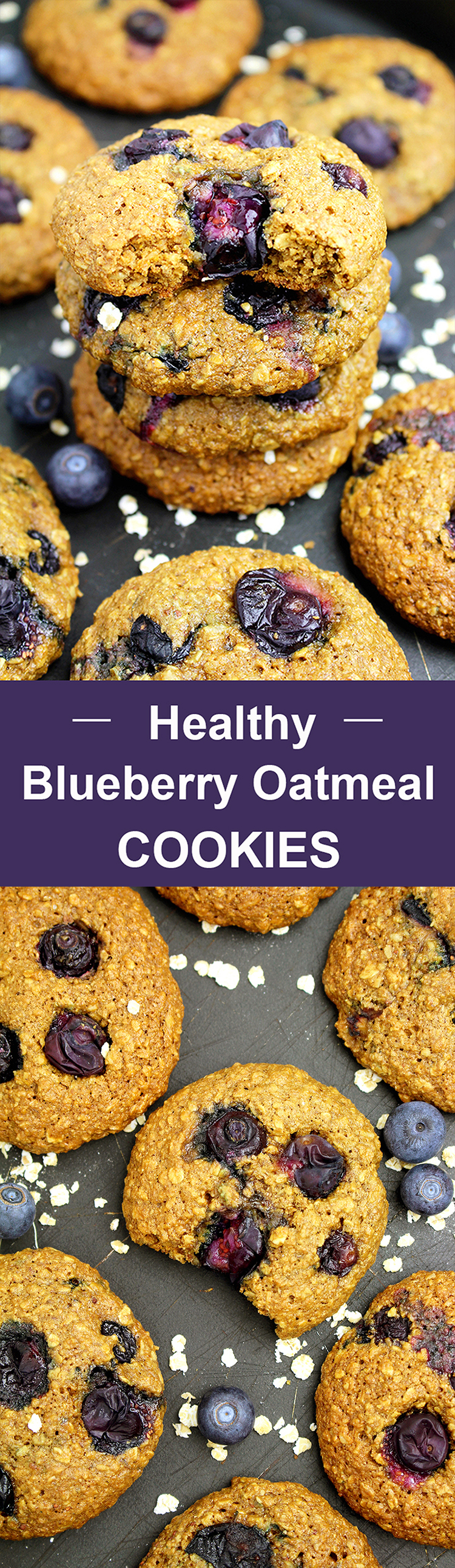 Untitled-1111 Healthy Blueberry Oatmeal Cookies