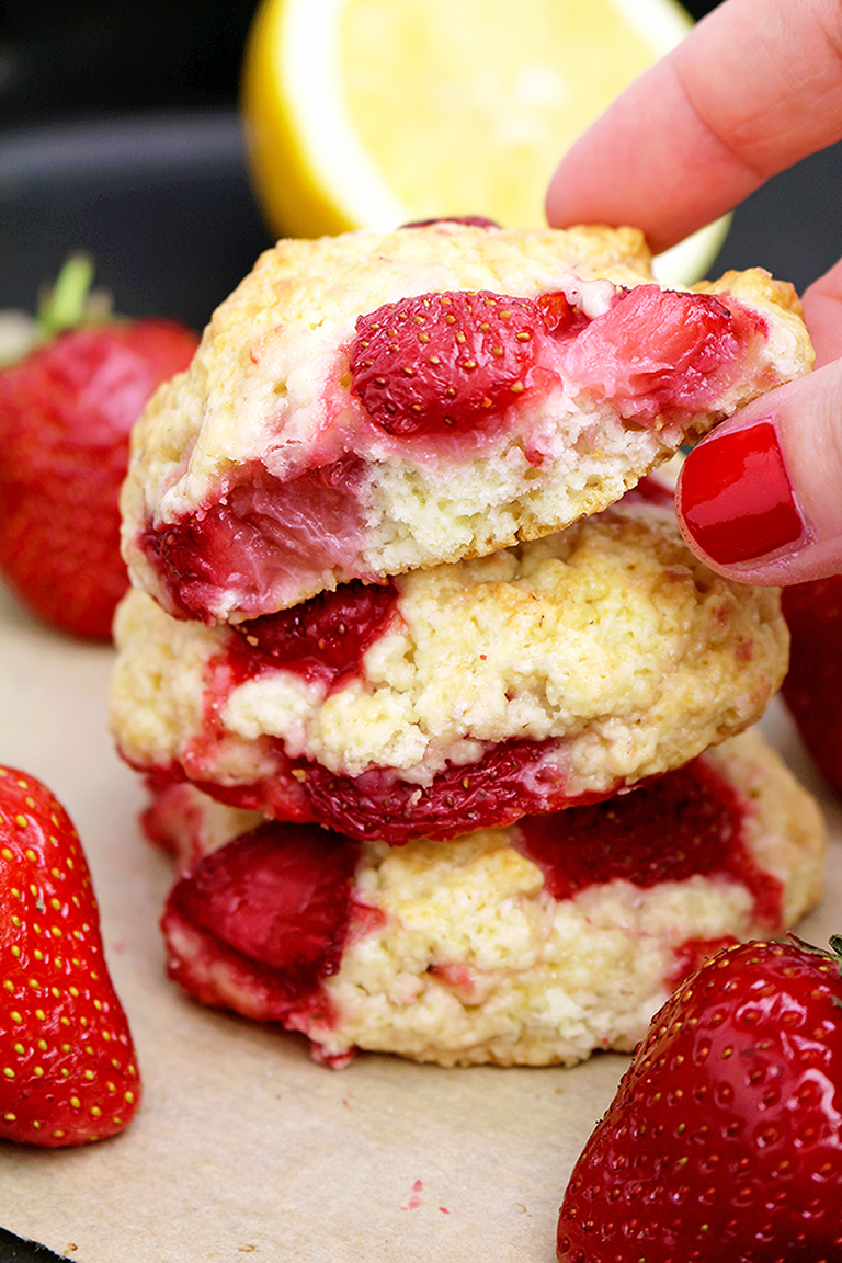 IMG_620777 Strawberry Shortcake Cookies