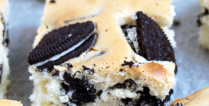Oreo Cream Cheese Bars