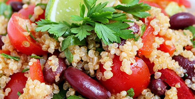 Zesty Lime Quinoa Salad