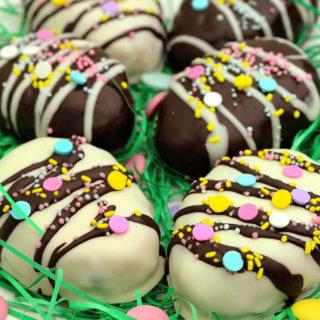 Peanut Butter Cookie Dough Easter Eggs
