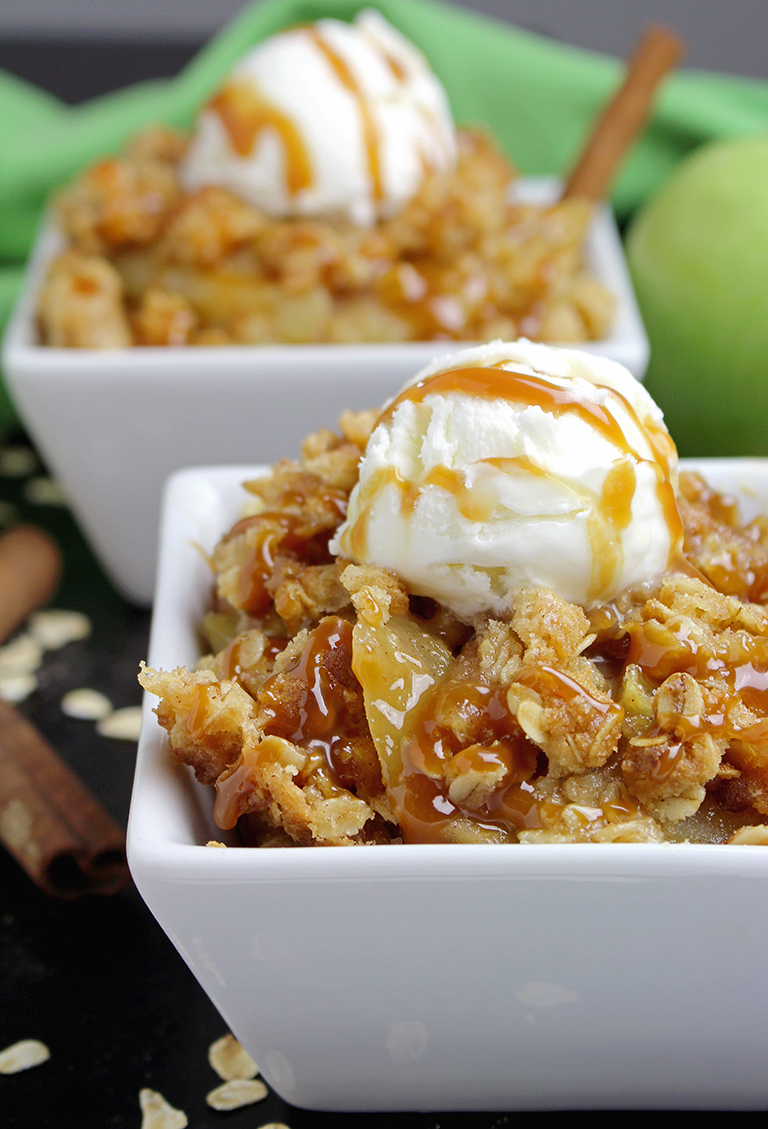 IMG_8645 Caramel Apple Crisp