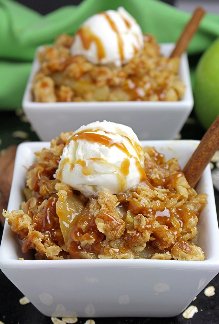 IMG_8652 Caramel Apple Crisp