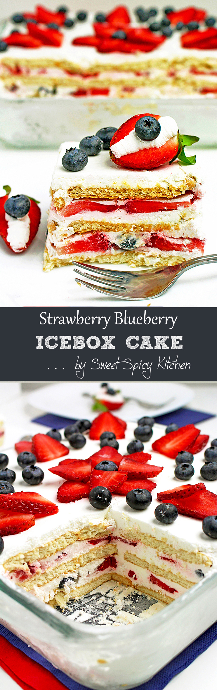 Untitled-28 Strawberry Blueberry Icebox Cake