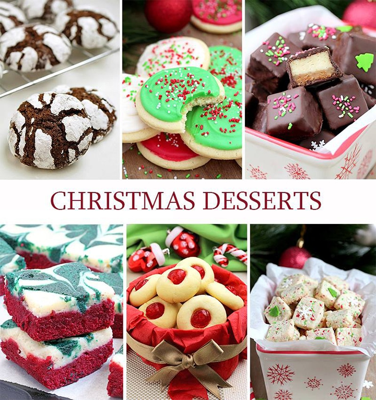 You can find here delicious Christmas Recipes