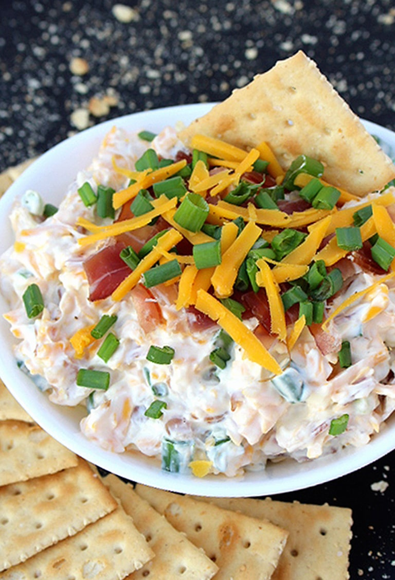 IMG_2064 No Bake Cheddar Bacon Dip