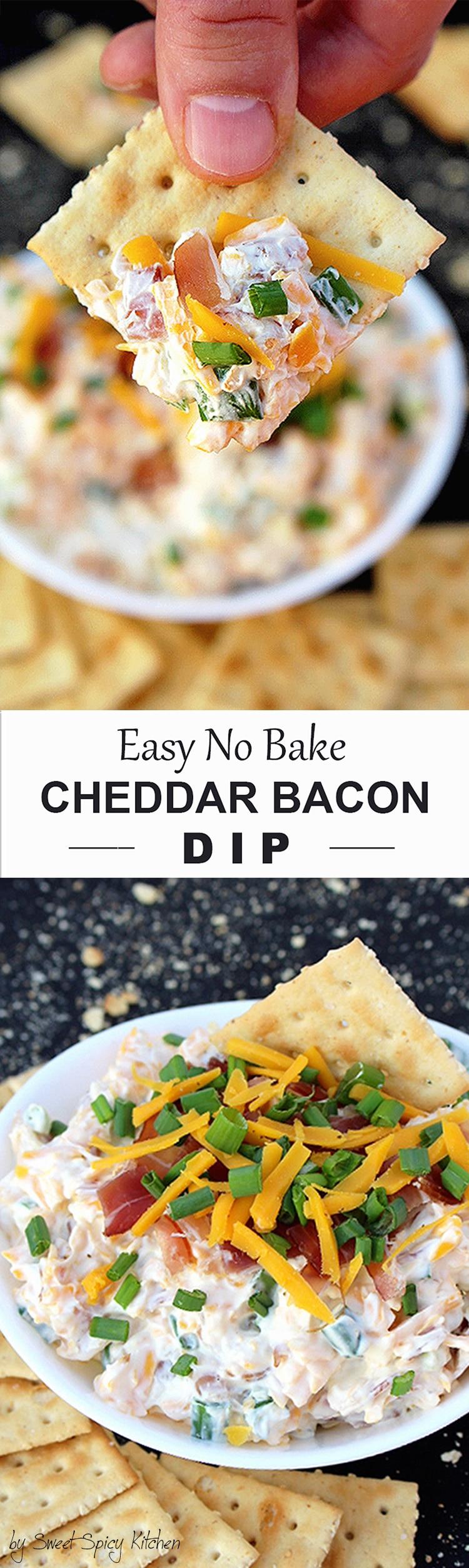 Untitled-13111 No Bake Cheddar Bacon Dip