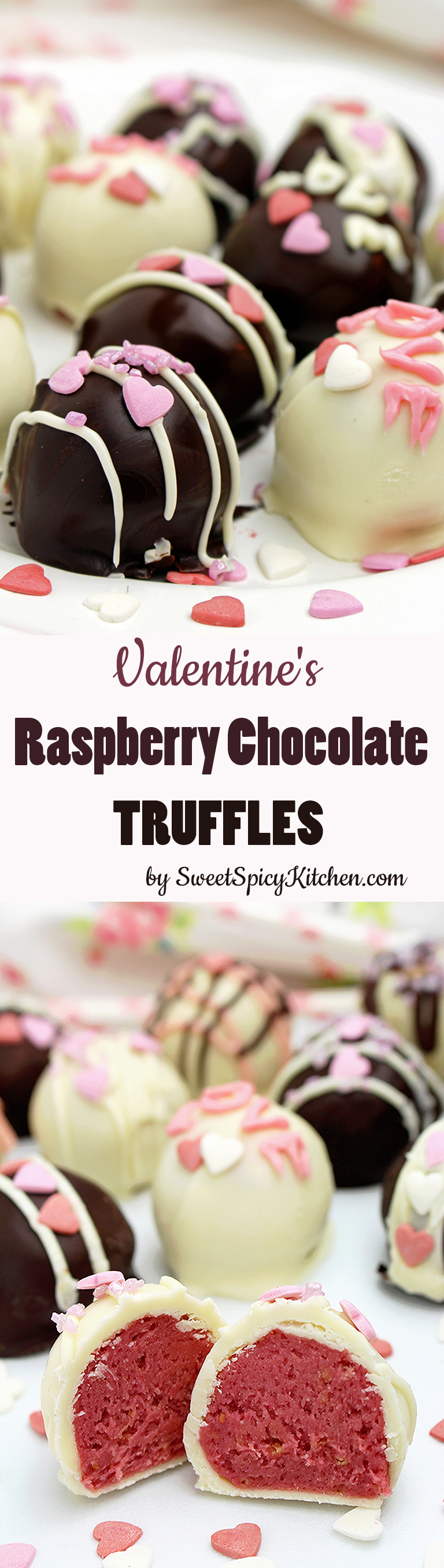 Valentine's Raspberry Chocolate Truffles – special recipe for a special occasion – Valentine's Day