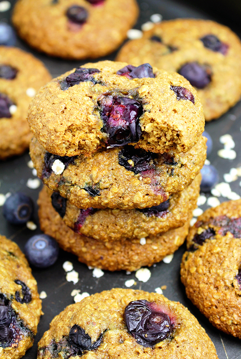 IMG_32299-1 Healthy Blueberry Oatmeal Cookies