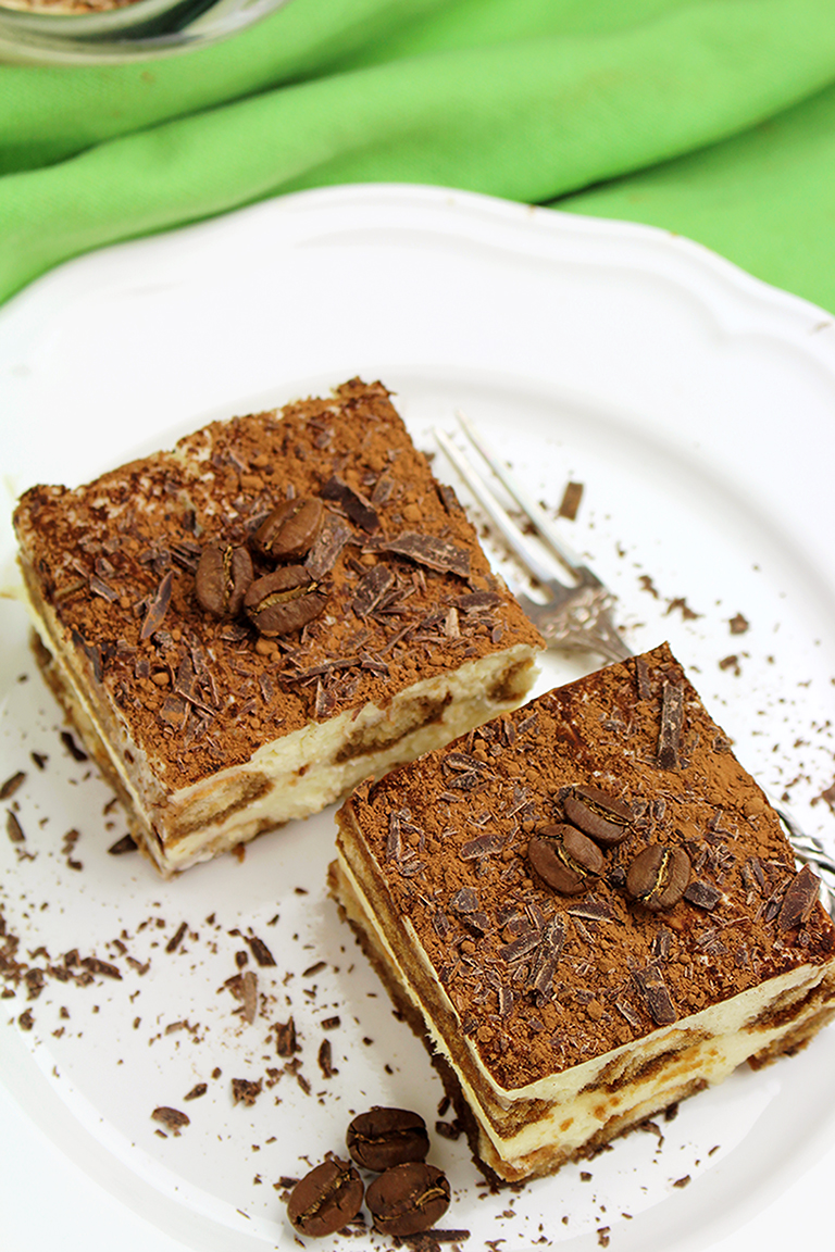 This traditional Italian dessert is well known all over the world. If you like simple, light dessert, which are also no bake and easy to make, you will love Easy Tiramisu Dessert Recipe.