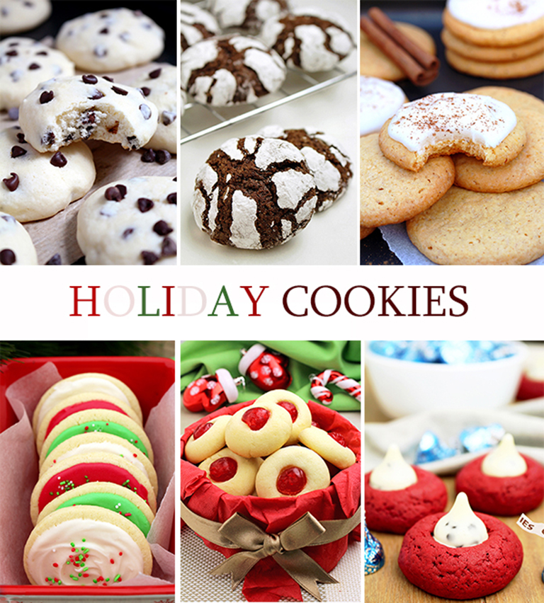 You can find here delicious Holiday Cookies