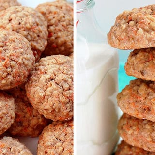 Yummy cookies, perfect for the start of the day, a snack or when you crave for something sweet – Carrot Oatmeal Cookies, so tasty and delicious ♥