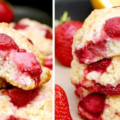 Strawberry Shortcake Cookies delicious strawberry cookies, so quick and easy to make. Great for the beginning of the day, for a snack, with a cup of tea and time with your friends