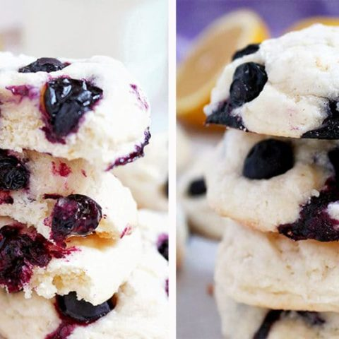 Blueberry Lemon Cheesecake Cookies lemon and blueberry combination make these cookies irresistible. They are simple, quick and easy to make.