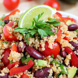 Zesty Lime Quinoa Salad
