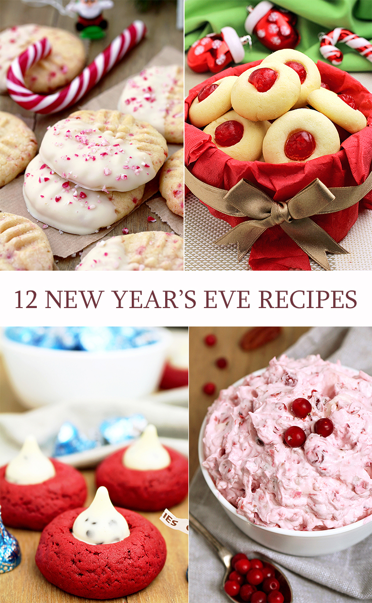 12 NEW YEAR'S EVE Recipes