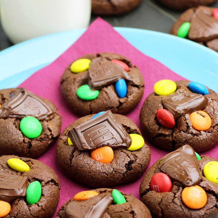 M&M's Hershey's Chocolate Cookies