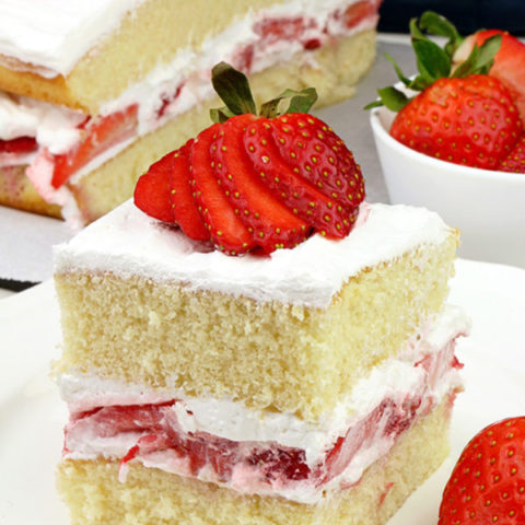 Strawberry Shortcake Sweet Spicy Kitchen