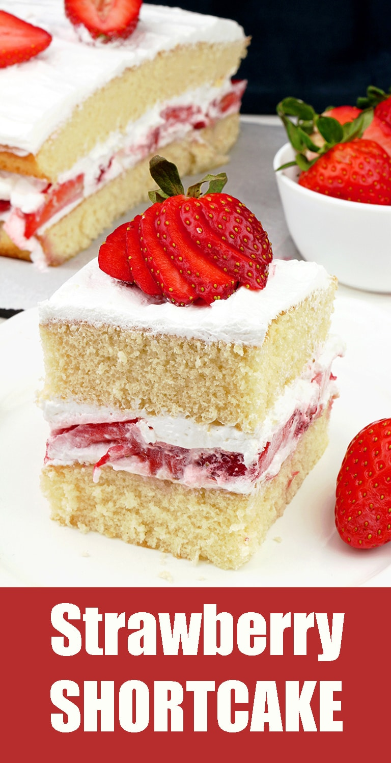 This simple old fashioned dessert is perfect for upcoming strawberry season - Strawberry Shortcake