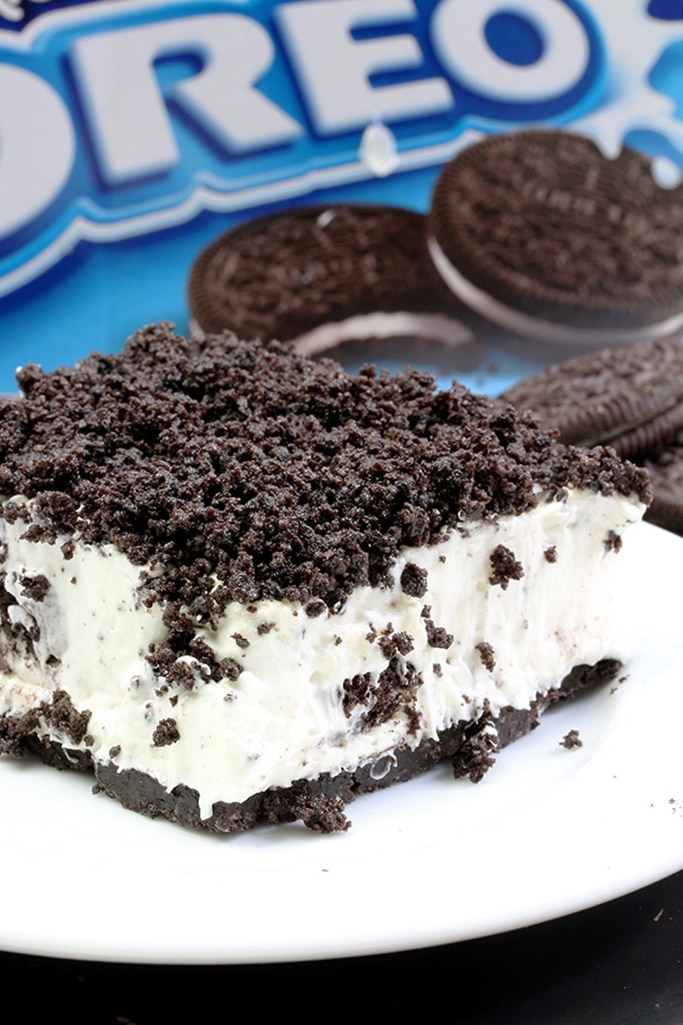 This Easy Frozen Oreo Dessert Is Light Frozen Summer Dessert