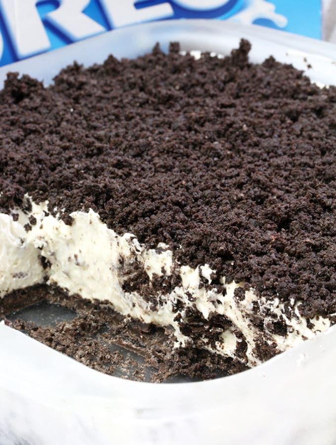 Easy Frozen Oreo Dessert