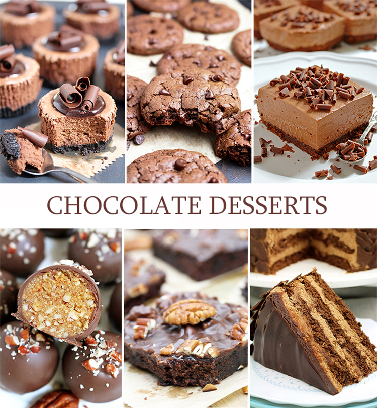 Check out some of our most popular Chocolate Dessert recipes