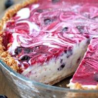 Very Berry Frozen Cream Pie