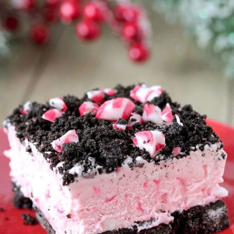 Easy Frozen Peppermint Dessert