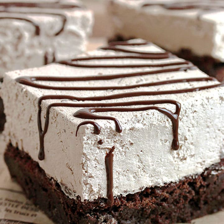 Bailey´s Chocolate Mousse Brownies