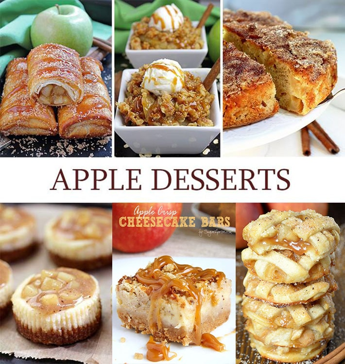 Looking for delicious apple dessert? Here are 6 best apple dessert recipes ever – perfect way to start your fall day with these delicious apples. From apple tacos, muffins, bars to apple crisp, there are plenty of apple desserts to choose..