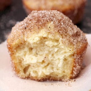 French Breakfast Puffs – these soft vanilla muffins, dipped into butter and coated with sugar and cinnamon are quick and delicious – in a word perfect breakfast. They're great choice for Christmas breakfast, too.